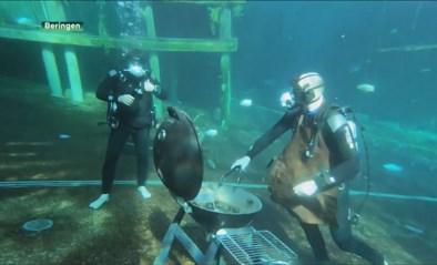 Duikcentrum Todi doet aan onder water social distancing in ludiek filmpje