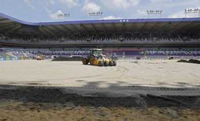 Met de grote middelen: Anderlecht legt nieuwe grasmat en drainage van 1 miljoen euro aan
