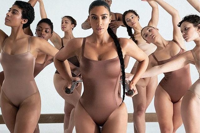 Mondmaskers komen Kim Kardashian op hevige kritiek te staan