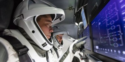 Welkom op de meest comfortabele ruimtevlucht ooit: vanavond sturen astronauten hun raket met een tablet naar de ruimte