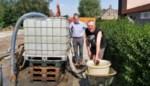 Opgepompt grondwater voor bewoners Krekelstraat