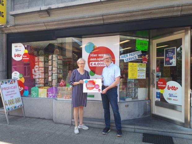 """Vijftiger wint 4 miljoen euro met Lotto in Herk-de-Stad: """"Opletten wie hier nu een nieuwe auto koopt"""""""