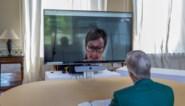 """Koning Filip houdt videochat met Katelijne van poetsbedrijf: """"Het was een heel weekend stressen. Ah ja, je spreekt hem niet elke week"""""""