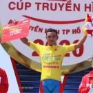 Thuisrijder Tan Hoai Nguyen won de eerste etappe.