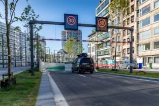 Opnieuw hinder in nieuwe tunnel onder Antwerpse Leien door ongeval met te hoog voertuig