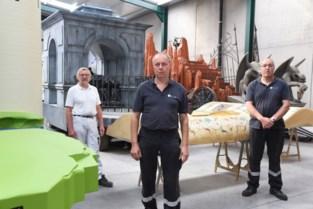 """Afscheid in mineur voor wagenbouwers Paul, Marc en Rudi: """"Ros Beiaardommegang had de kroon op onze carrière moeten worden"""""""