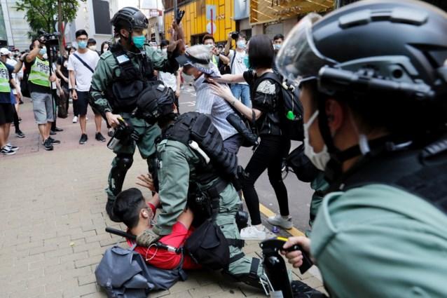 Bijna 200 arrestaties in Hongkong in aanloop naar debat over omstreden wet
