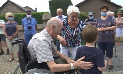 Maasmechelaar na 6 maanden ziekenhuis terug thuis