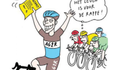 SPORTCARTOON VAN DE DAG