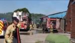 Brand na laswerken op boerderij