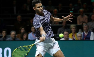 Canadees Félix Auger-Aliassime vergezelt David Goffin bij Ultimate Tennis Showdown