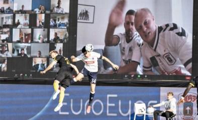 Een zoveelste meeting op Zoom, maar dan anders: creatieve Denen streamen emoties van fans live in het stadion