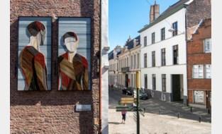 Ode aan Jan Van Eyck met sloophout van Sint-Baafskathedraal en KAA Gent-café