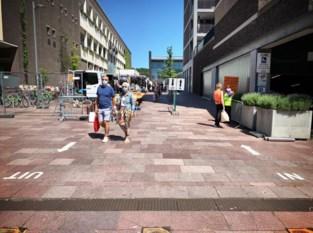 Eerste donderdagmarkt in Genk even gesloten door drukte