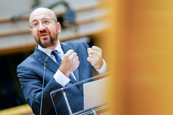 Money time, voor Europa én Charles Michel: krijgt ex-premier 27 landen achter relanceplan van 750 miljard?
