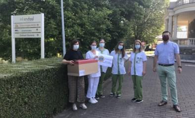 Lions Kasteel van Gaasbeek steunen Inkendaal met mondmaskers