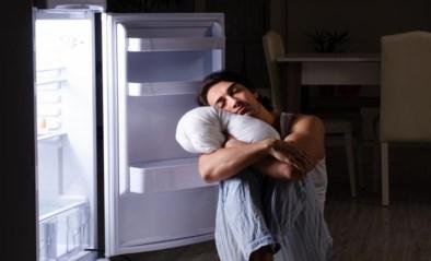 Stop een kussen in de frigo-dag