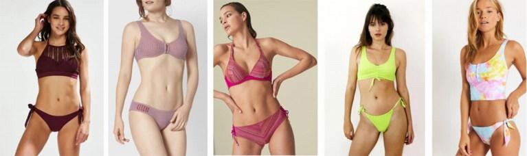 Zonnen of aperitieven je tuin: met deze bikini's waan je je in het paradijs