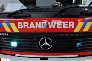Loodsbrand in Antwerpse haven