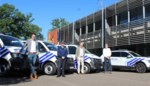 Drie nieuwe combi's en politiewagen voor zone Beringen/Ham/Tessenderlo
