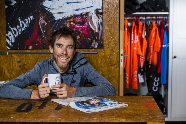 Wout van Aert rijdt zaterdag gravelrace 'Dirty Kanzelled' van Laurens ten Dam