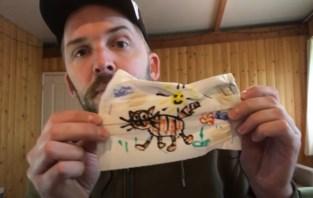 """""""Weg met dat saaie blauw"""": Jonas Geirnaert daagt jongeren uit om zelf mondmaskers te ontwerpen"""