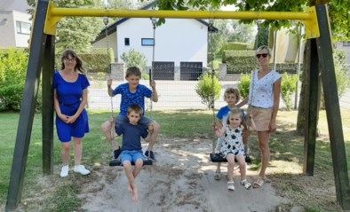 Kinderen leven zich opnieuw uit in kleinste speeltuintje