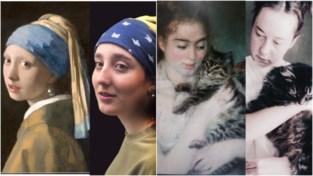 #kunstinquarantaine: Gentse school bootst bekende schilderijen na