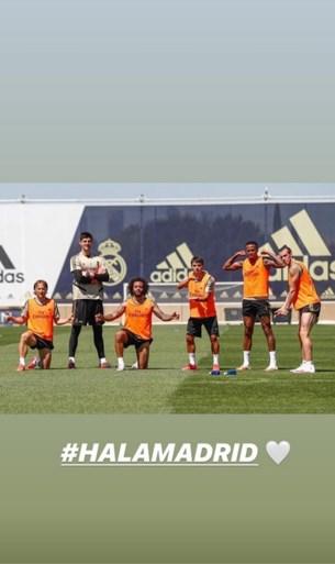 """Thibaut Courtois voelt zich klaar om weer onder de lat te staan bij Real Madrid: """"Gelukkig dat dit niet 25 jaar geleden plaatsvond"""""""