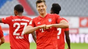 Lewandowski maakt unieke goals en zet Bayern München helemaal op weg richting titel