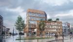Grasveldje op Eilandje verdwijnt: kantoren en horeca in de plaats