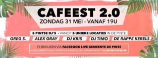 Vijf pintse DJ's zorgen op kermiszondag voor een online Cafeest 2.0
