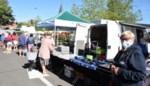 Foto. Eerste Kortemarkse markt na lockdown verloopt vlekkeloos
