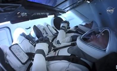 Volg hier live hoe Amerikaanse astronauten aan boord gaan van ISS