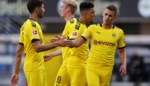 Thorgan Hazard en Witsel vallen op in ruime zege tegen rode lantaarn Paderborn