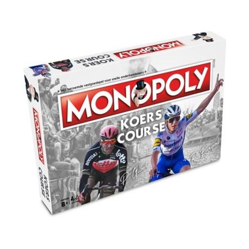 De Muur van Geraardsbergen is de populairste passage uit het wielervoorjaar en dus de duurste op het bord van Monopoly Koers
