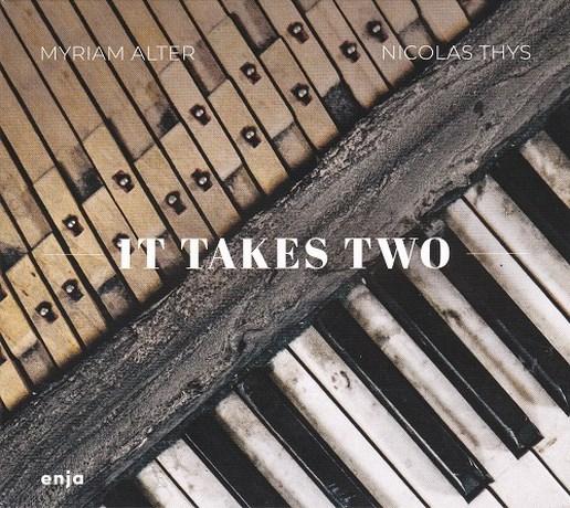 RECENSIE. 'It takes two' van Myriam Alter en Nicolas Thys. Uitgepuurde kamermuziek ***