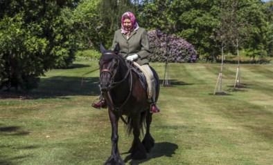 Queen Elizabeth voor het eerst in maanden buiten gezien
