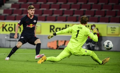 RB Leipzig blijft Dortmund opjagen na doelpuntrijke zege bij FC Köln zonder Belgen