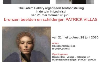 Beeldhouwer Patrick Villas stelt tentoon
