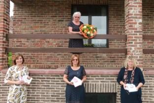 Verpleegkundigen AZ Sint-Elisabeth en Okra in de bloemetjes