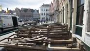 Brugse terrassen dubbel zo groot tot in januari, maar niet op alle plaatsen