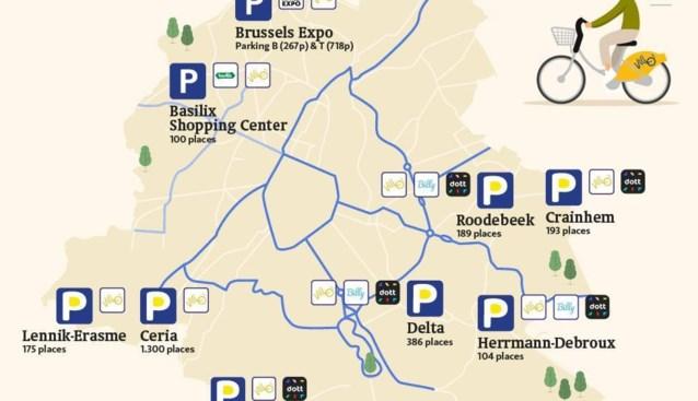 Gewest creëert 100 extra parkeerplaatsen voor pendelaars