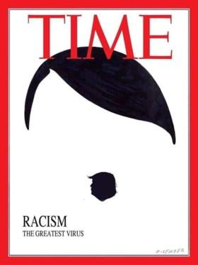 """Vlaamse anti-Trump cartoon reist wereld rond: """"Surrealistisch, in meer dan één opzicht"""""""