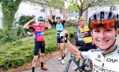 Annemiek van Vleuten doet pinkstertochtje van 400 kilometer, ook wereldkampioen Pedersen voltooit straffe uitdaging