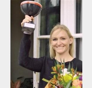"""Winnares Hanne Claes: """"Leuke afwisseling in deze coronatijden"""""""