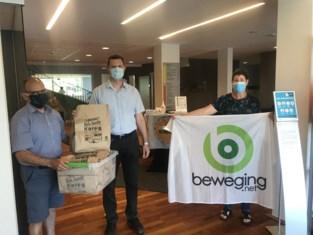 Beweging.net schenkt fair trade geschenken aan zorgcentra