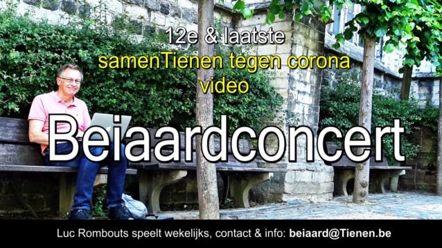 """VIDEO. Laatste beiaardconcert """"Samen tegen corona"""""""