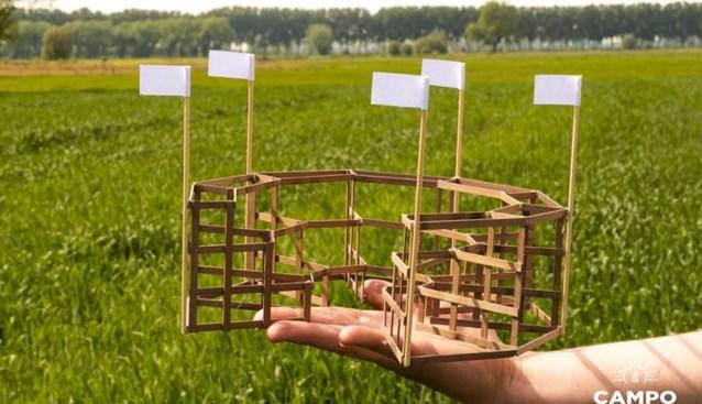 """Hoe dit festival dan toch kan doorgaan tussen de maïsstengels: """"Die constructie was de beste manier om maatregelen na te leven"""""""