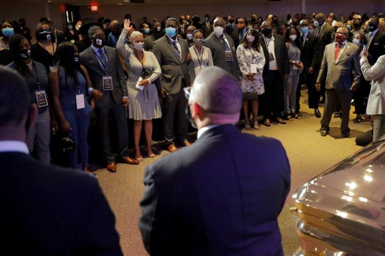 Herdenkingsdienst George Floyd uitgezonden op Amerikaanse tv-zenders, verschillende beroemdheden aanwezig